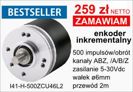 BESTSELLER - enkoder inkrementalny I41-H-500ZCU46L2